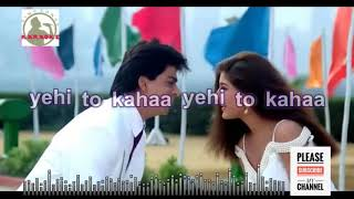 deewaana main tera deewaana Full Karaoke song for male singers with lyrics