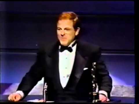 Arnold Kopelson Winning an Oscar for Platoon