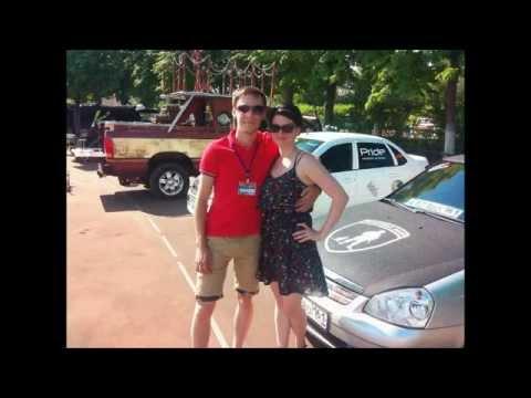 Приборка GAMMA GF 818 BLACK - YouTube