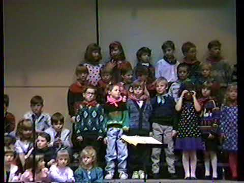 Olmsted Elementary School Music Program 11-18-1991 (clip 1of3)