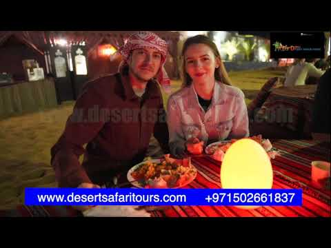 Evening Desert Safari with BBQ dinner Package