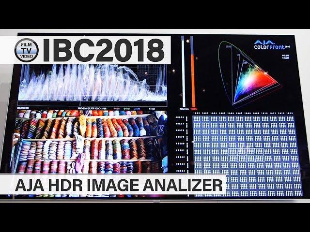 IBC2018: Aja HDR Image Analyzer