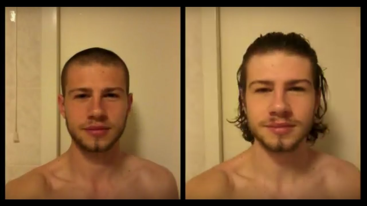 1 Year Without A Haircut Timelapse 30 Seconds Youtube
