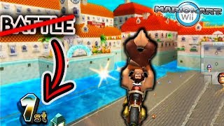What If Battle Stages Were Custom Tracks In Mario Kart Wii