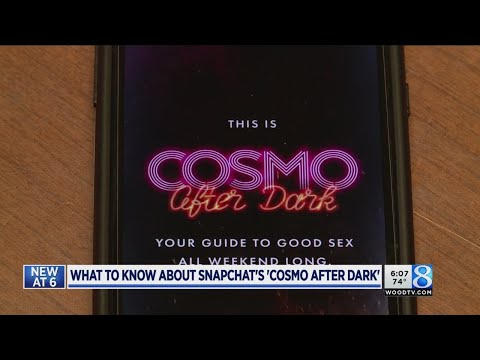 Blogger warns parents of Cosmo on Snapchat