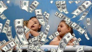 Печатаем Деньги в домашних условиях Фокусы для детей Print dollars at home(Превращаем бумагу в доллары! Печатаем деньги не выходя из дома. Смотрите фокусы для детей. Turn paper into dollars!..., 2016-03-23T14:50:46.000Z)