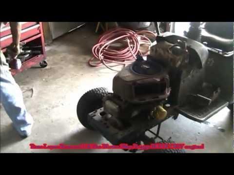 Craftsman Riding Mower Motor Change | FunnyCat.TV