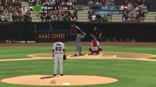 MLB 2K13: Gameplay - Angels vs Yankees