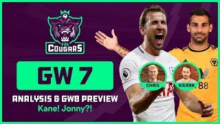 FPL GW7 REVIEW: Kane! Jonny! Sterling! Trippier! Hazard! GW8 PREVIEW: Free Hit?!  | FPL COUGARS #10