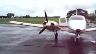 PIPER PA-34 220T SENECA III STARTUP IN PUERTO BERRIO SKPR