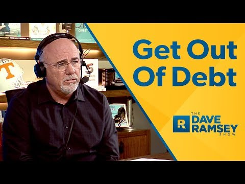 How To Get Out Of Debt  Dave Ramsey Rant