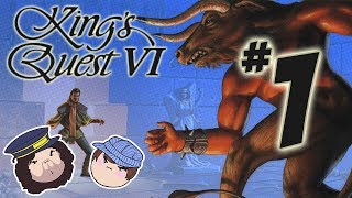 King's Quest VI: The Land of the Green Isles - PART 1 - Steam Train