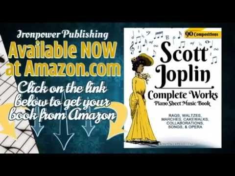 scott-joplin---piano-sheet-music-book---complete-works-inc.-maple-leaf-rag,-the-entertainer,-etc.