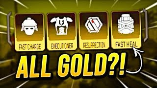 WINNING WITH ALL GOLD ITEMS!