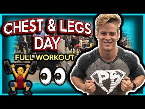 CHEST AND LEGS FULL WORKOUT  | HERSCHEL STRONG
