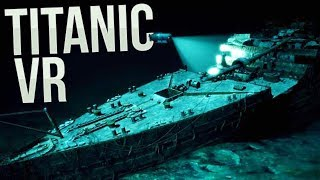 We Found A Hidden Message? - Going Deeper Into The Titanic Wreck - Titanic VR Gameplay
