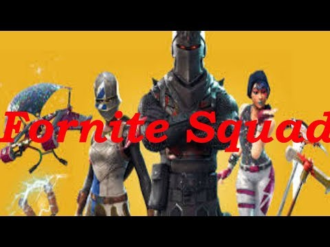 FORNITE SQUAD: IT DEPENDS ON ME ONCE AGAIN SMH
