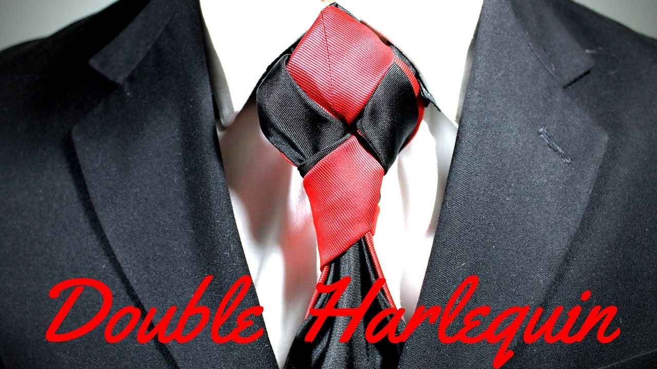 How to tie a tie double harlequin knot youtube ccuart Choice Image