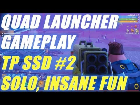 Quad Launcher Gameplay - TP SSD 2 Solo