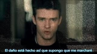 Justin Timberlake - Cry me a river / Español - (HD 1080p)