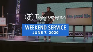 Transformation Church | The Good Life | Happy are the Sad | 9:30 Service | Derwin L. Gray