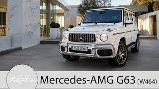 2018 Mercedes-AMG G63 (W464) Weltpremiere / 4,0-Liter V8 mit 585 PS [4K] - Autophorie