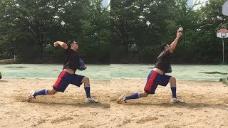 Pitching Practice (+slow) _170625