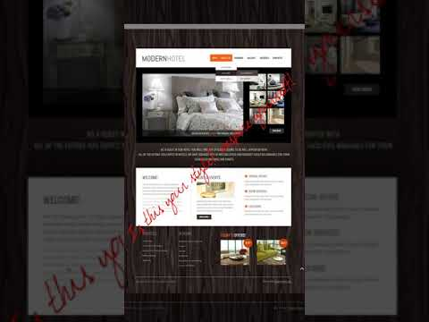 Web page Themes website template for sale