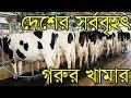 বাংলাদেশের সবচেয়ে বড় গরুর খামার | Agriculture News Bangladesh | হৃদয়ে মাটি ও মানুষ