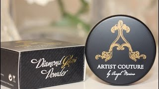Gambar cover Artist Couture Broadway Diamond Glow Powder Highlighter Review and Swatches On A Woman of Color