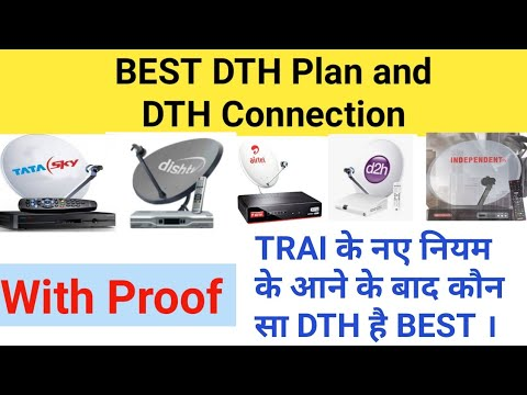 Best DTH Connection With Best Plan | Most Watch Independent Tv Customers  |