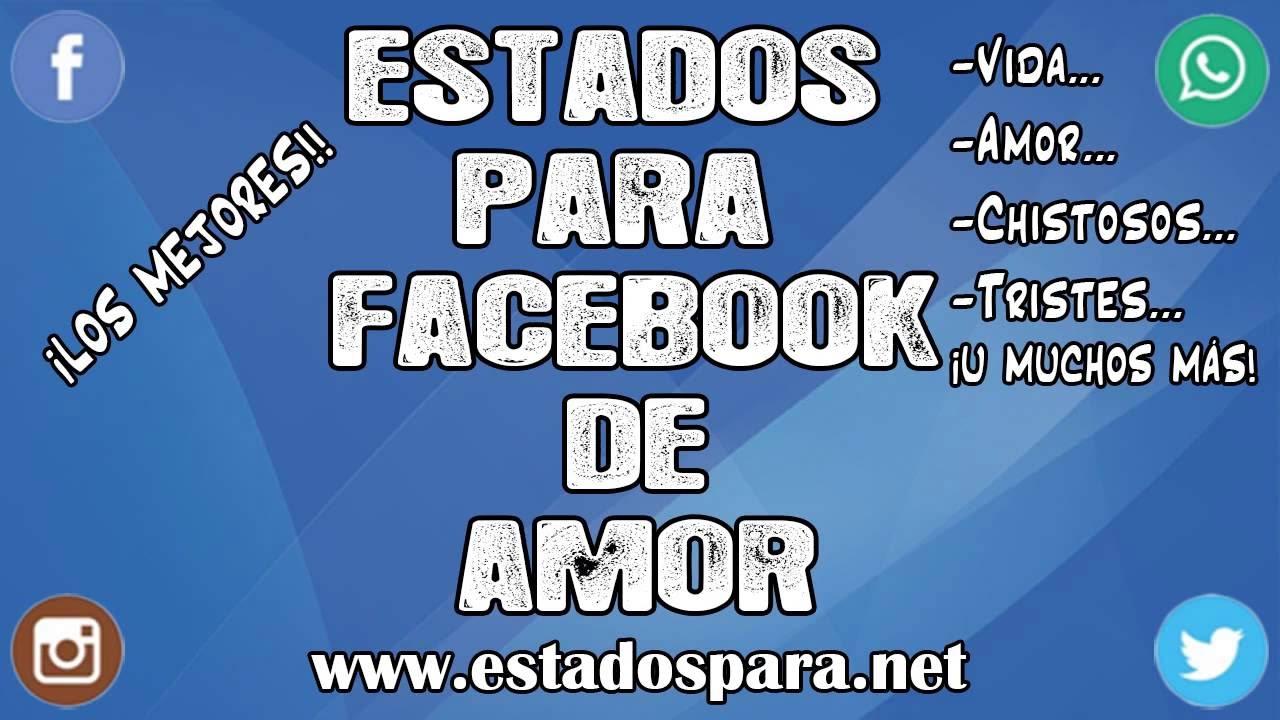Estados Para Facebook De Amor Súper Bonitos