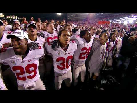 Carmen Ohio - The Ohio State Buckeyes at the 2010 Rose Bowl (HQ)