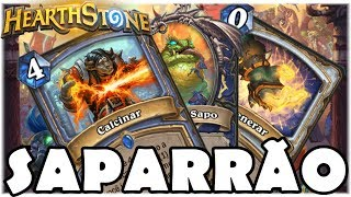 HEARTHSTONE - UM SAPARRÃO E MAIS! (O RINGUE DO RASTAKHAN)
