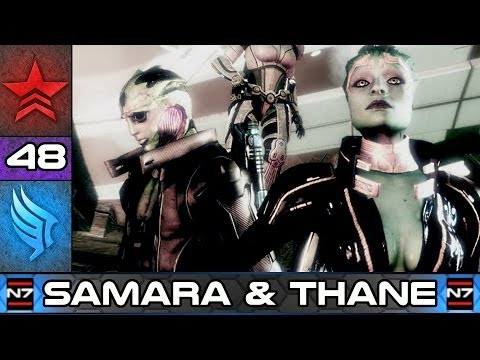 Mass Effect 2: Thane and Samara - Paragon Story Walkthrough #48