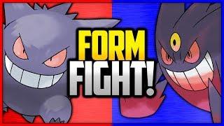 Gengar vs Mega Gengar | Pokémon Form Fight