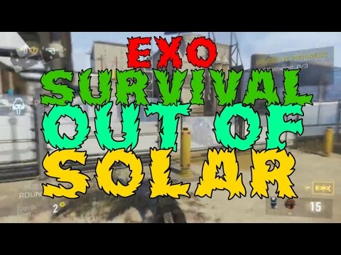 Call Of Duty AW Glitches: Out Of Map Solar!! (Exo Survival) Ps4 XB1