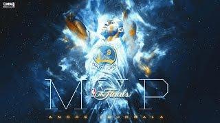 Andre Iguodala Earns Finals MVP Trophy in Game 6