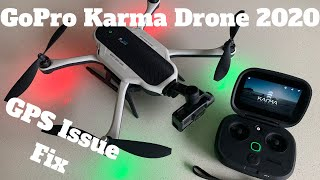GoPro Karma Drone 2020 GPS Issue Fixed