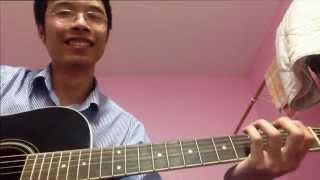 Đường xa ướt mưa - Guitar cover