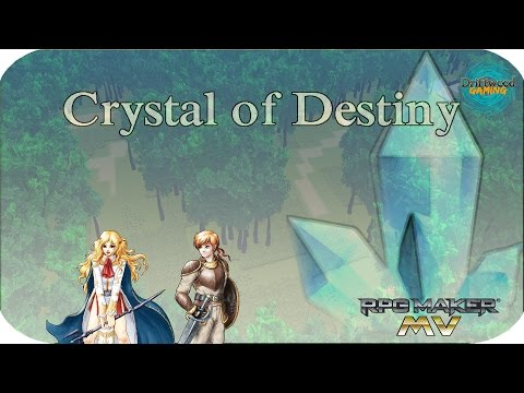 First Impressions - Crystal of Destiny - 2.5D RPG - Amazing art style - Balanced combat - RPGMMV