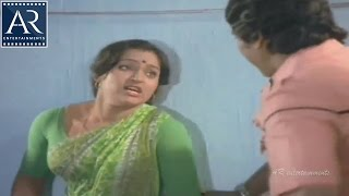 Moodu Mulla Bandham Movie Scenes | Owner tries for chnce with Madhavi | AR Entertainments