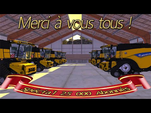 farming simulator 2013  ÉNORME MOISSON SUR SERVEUR VERYGAMES [ MULTI ]