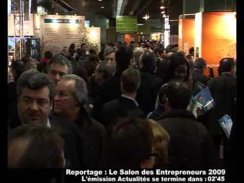 reportage salon de l 39 auto entrepreneur youtube