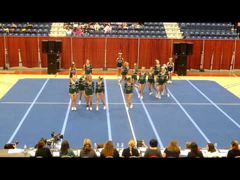Leavitt Area High School Cheering - States 2012
