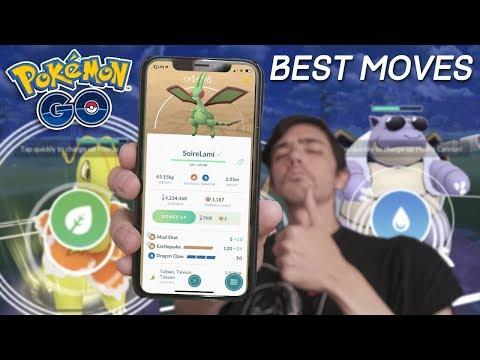 BEST MOVES FOR PVP IN POKÉMON GO   Pokémon GO PvP Update