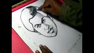 How to Draw Srinivasa Ramanujan Drawing
