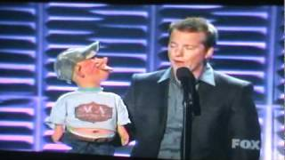 Jeff Dunham  and Bubba J AT the American Country Music Awards