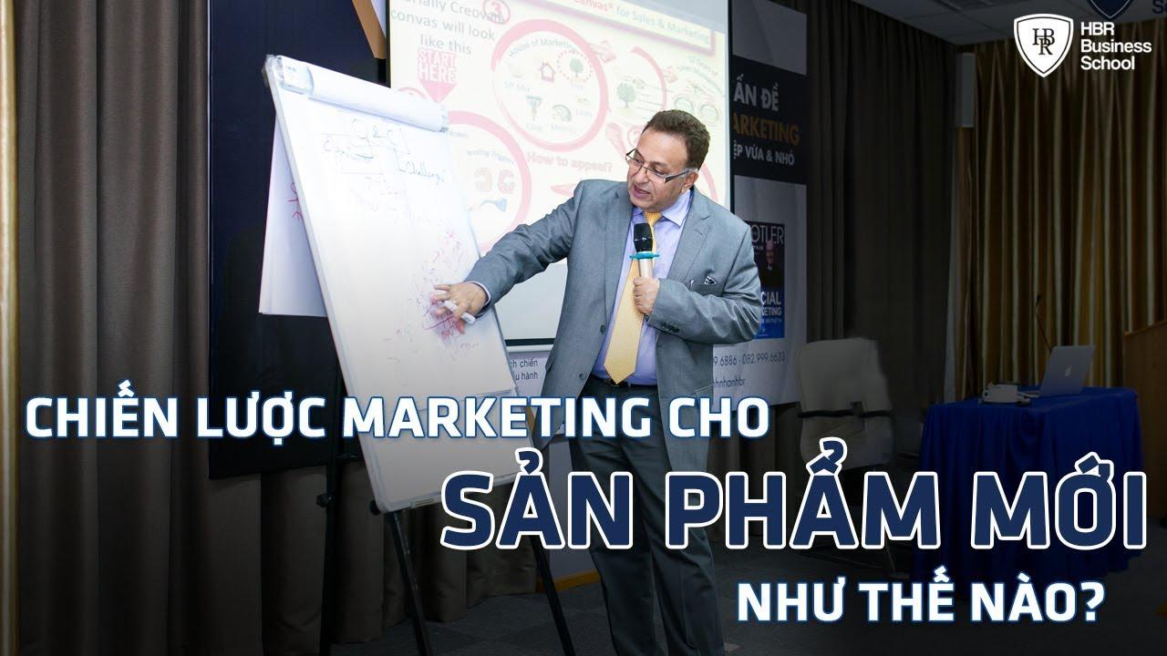 Khóa học dành cho Lãnh đạo/ Giám đốc/ CEO – Chiến lược Marketing cho sản phẩm mới như thế nào?