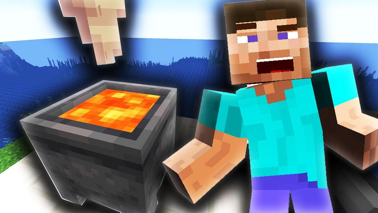 Minecraft: New Infinite Lava in Survival!!